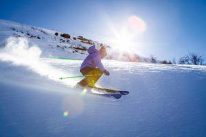 Skifahrer im Ennstal - Apart 33